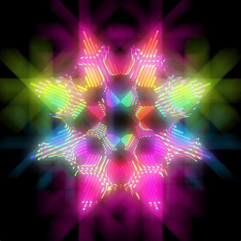 beautiful nonstop rainbow color movement gif