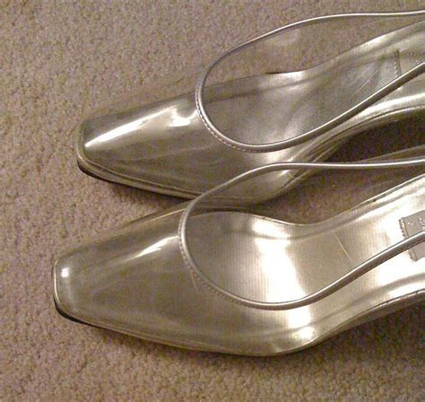 clear bridal shoes   Wedding Shoes Blog