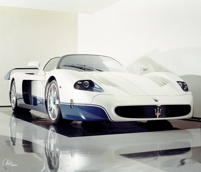 Maserati MC12 in Medium Format