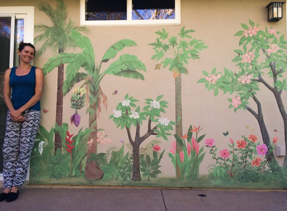 Hawaiian Mural Finished Leila Currah