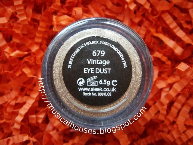 sleek vintage eye dust