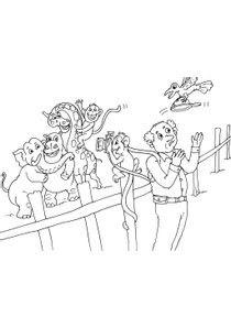 Coloriages Zoo à Imprimer Coloriages Animaux