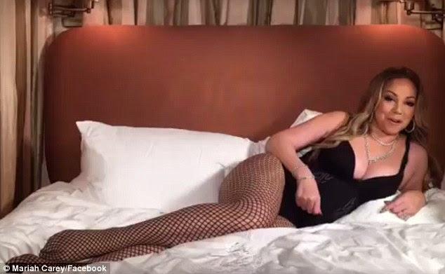 O fim: Chamando-o sai com seu ex-noivo pouco antes do E do vencedor do Grammy!  Document-series, Mariah's World, estreou em dezembro de 2016 é o que levou a canção