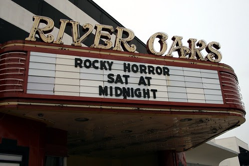 river oaks theater marquee