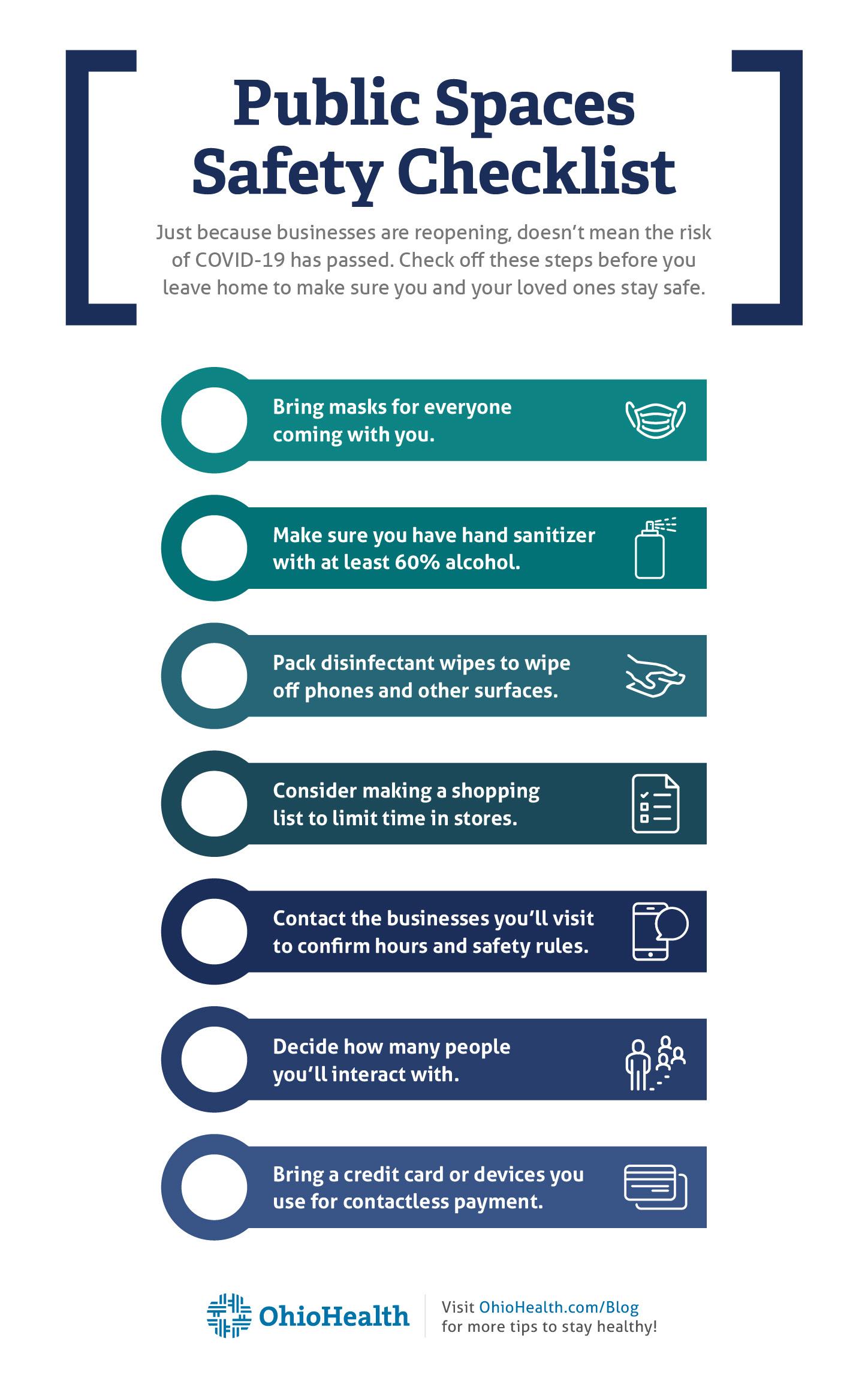 COVID-19: Family Safety Checklist - OhioHealth