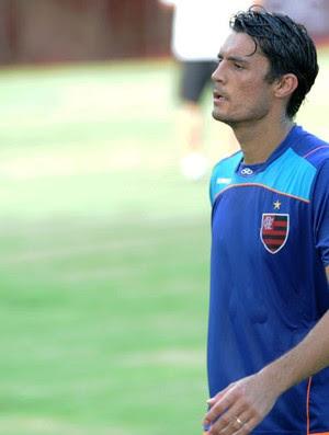Marcos Gonzalez no treino do Flamengo (Foto: Alexandre Vidal/Fla Imagem)