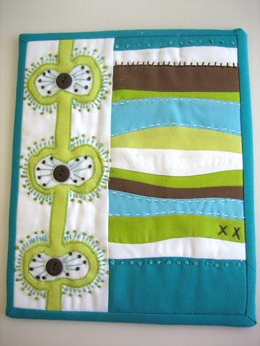 Mini Art Quilt #1