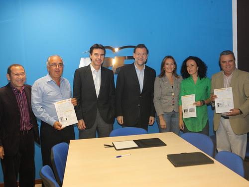 El presidente del Partido Popular, Mariano Rajoy, visita Fuerteventura