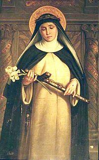 Santa Catalina de Siena - un matrimonio diferente