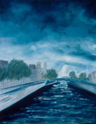 La Seine, II / 塞納河之二 / Die Seine, II