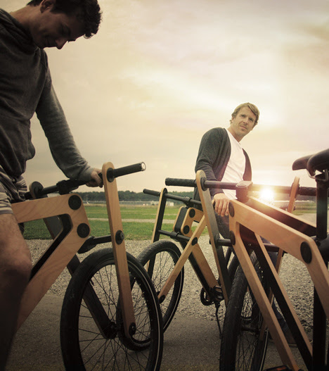 Sandwichbike by PedalFactory