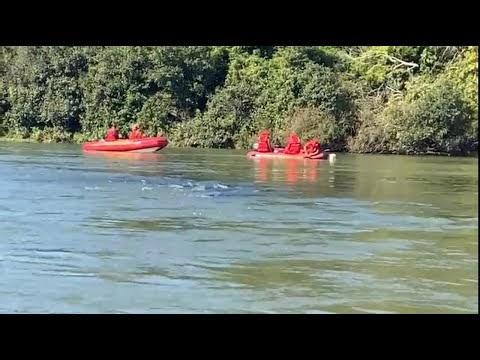 Buscas continuam nesta quinta no Rio Ivaí, quatro corpos foram encontrados