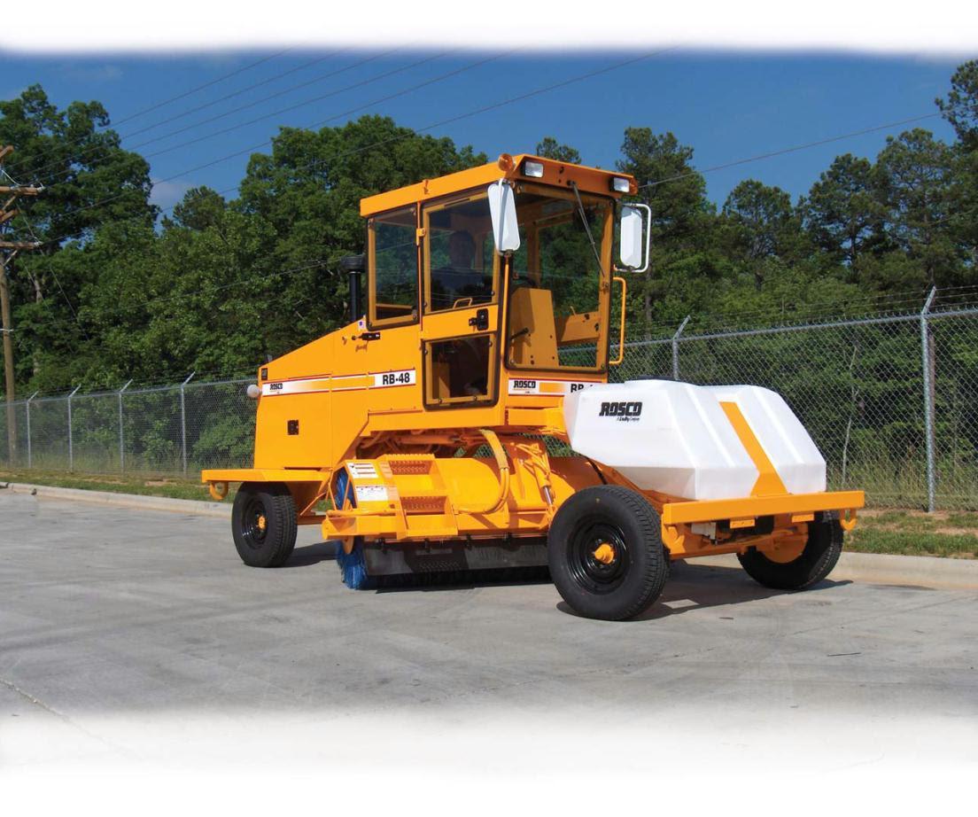Сasa: Barredora mecanica para asfalto
