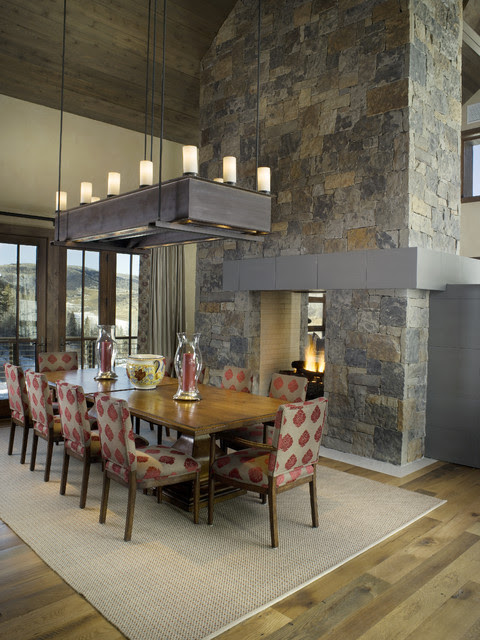Double-Sided Fireplaces Multiply Design Options