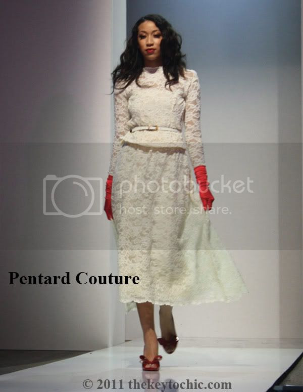 Pentard Couture lace outfit
