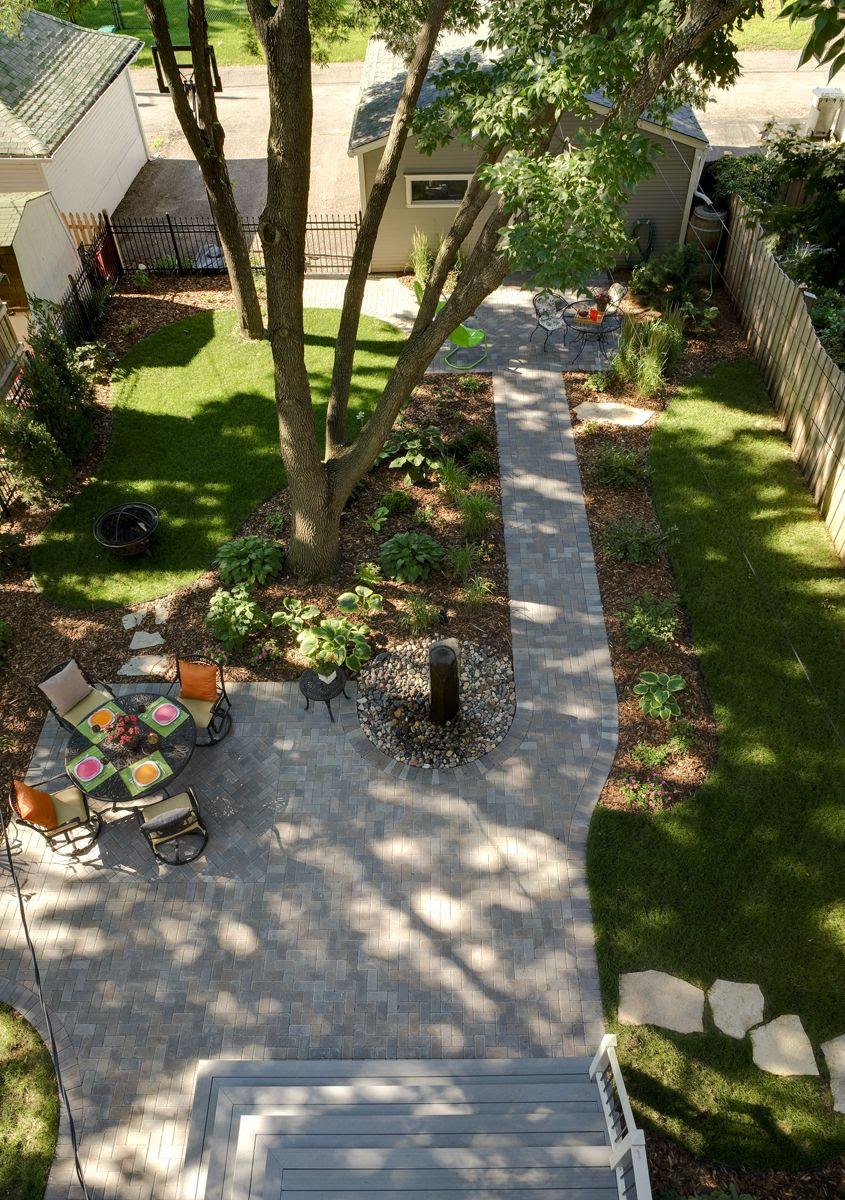 Back Yard Patio Landscape