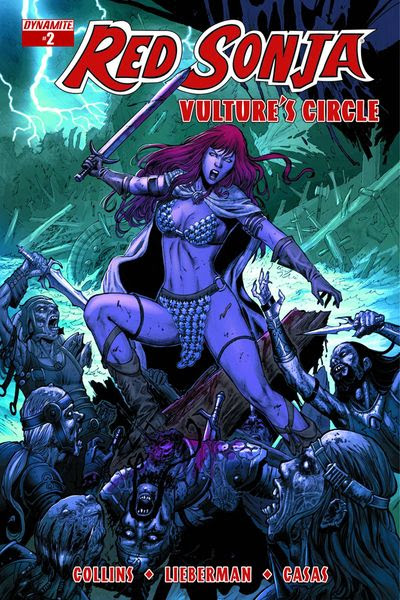 Red Sonja Vultures Circle #2 (Cover B - Geovani Variant)