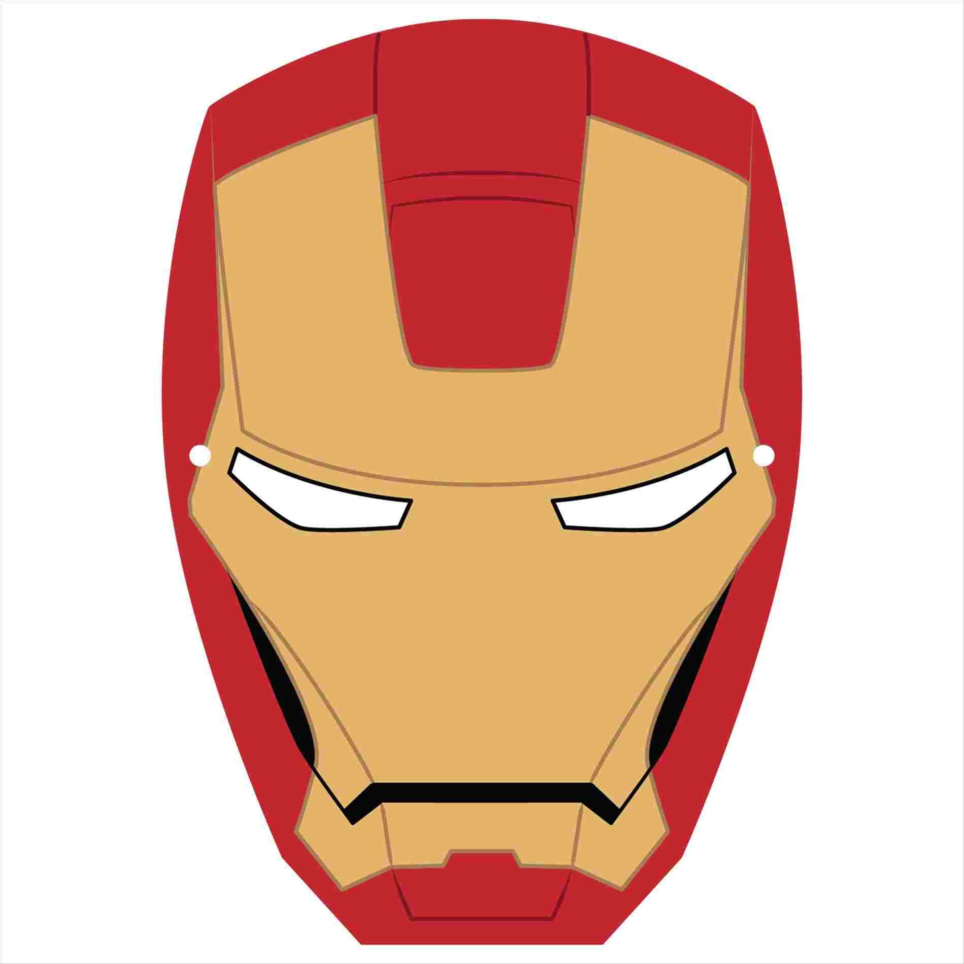 Iron Man Drawing Easy | Free download on ClipArtMag