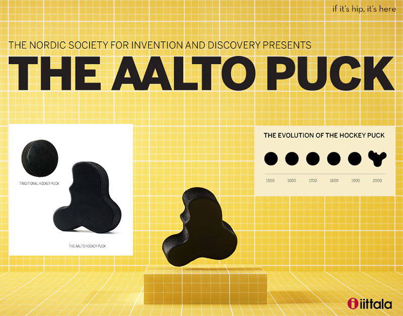 The aalto puck hero IIHIH