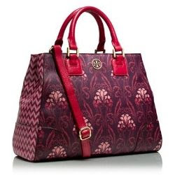 Tory Burch Robinson Printed Triangle Tote