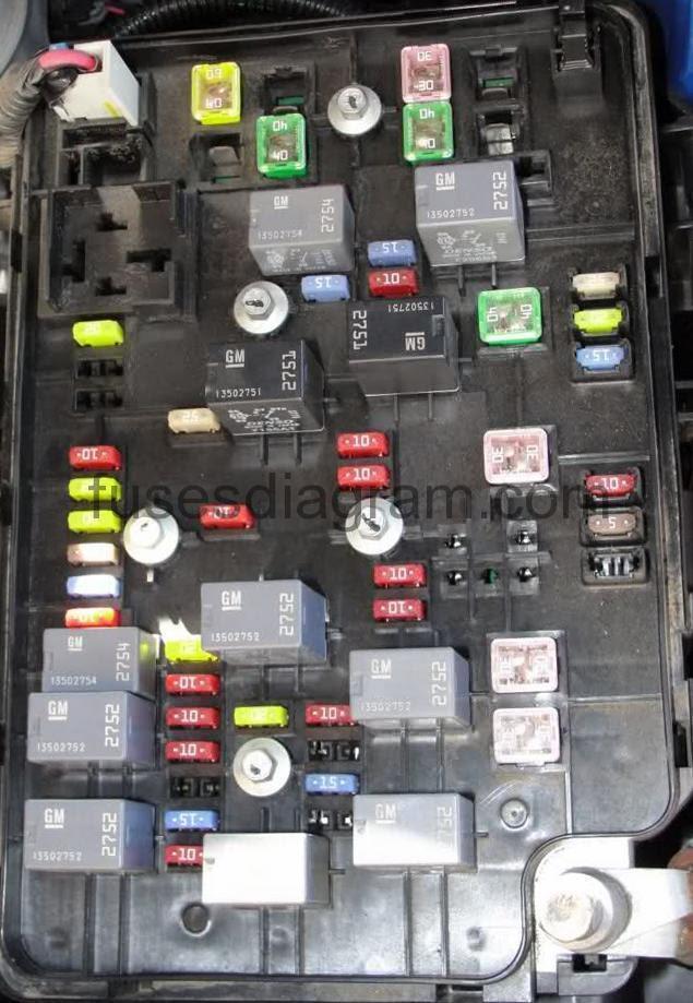 34 2006 Chevy Cobalt Fuse Box Diagram