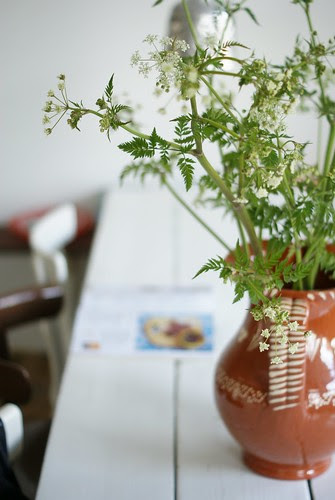 jamie & cow parsley by wood & wool stool