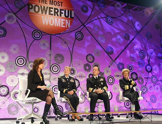 US Navy 101006-N-1923S-015 Fortune Most Powerful Women Summit in Washington, D.C