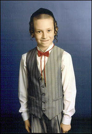 Joel Engelman as a young boy.