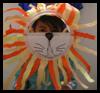 Hacer máscaras de león para niños: Haga su propia máscara de Artesanía