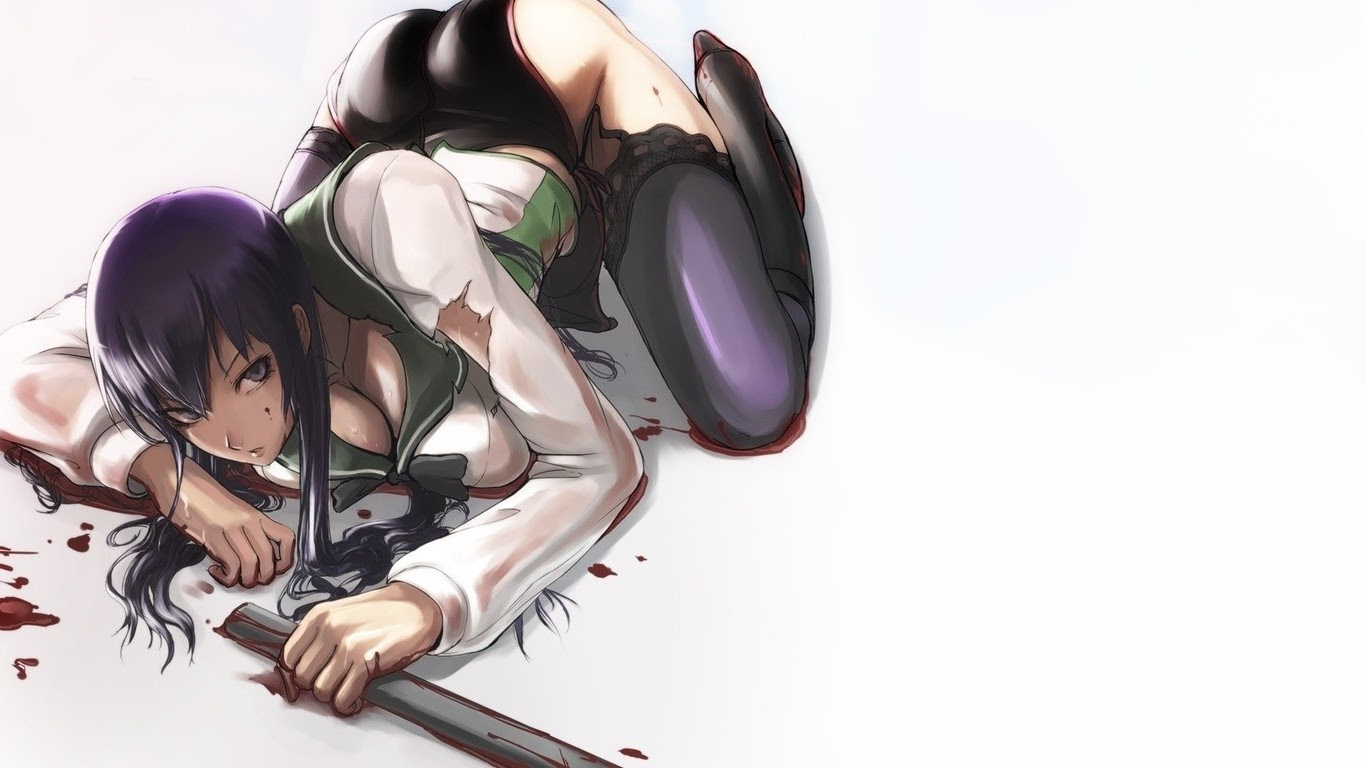 Highschool Of The Dead Wallpapers Free Wallpapers