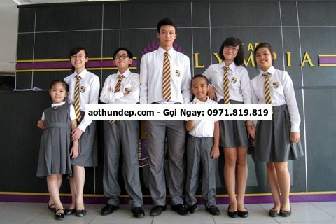 mẫu đồng phục học sinh tiểu học