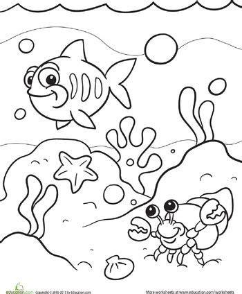 ideas  ocean coloring pages  pinterest
