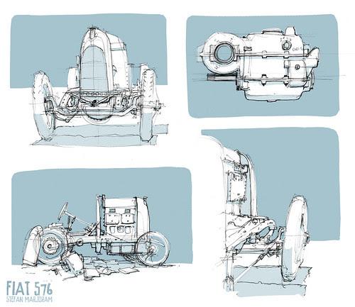 Fiat S76 by Stefan Marjoram