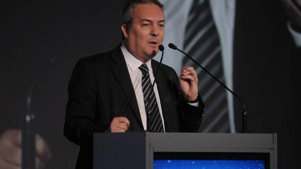 El ex ministro de Producción bonaerense Christian Breitenstein, en un acto de diciembre de 2014. Foto: Maxi Failla.