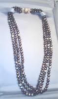 Anniversary present: freshwater pearls