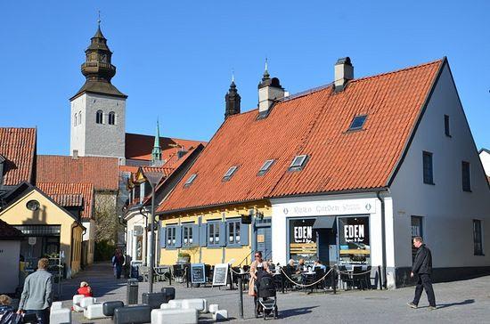 """The Russian yard"" in Gotland."