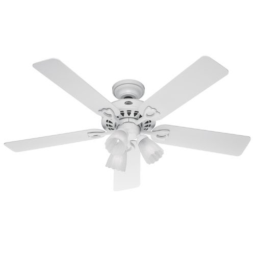 Replacement Globes For Ceiling Fans Hunter 22434 Sontera Three Light 52 Inch Five Blade Ceiling