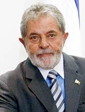 Presidente Lula é o representante brasileiro na 33ª posição da lista