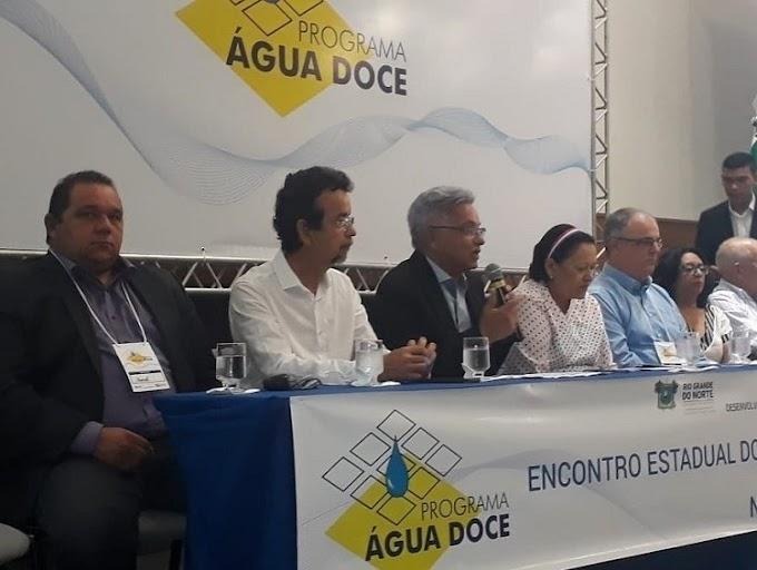 Prefeito de João Câmara, participa do VI Encontro do Programa Água Doce