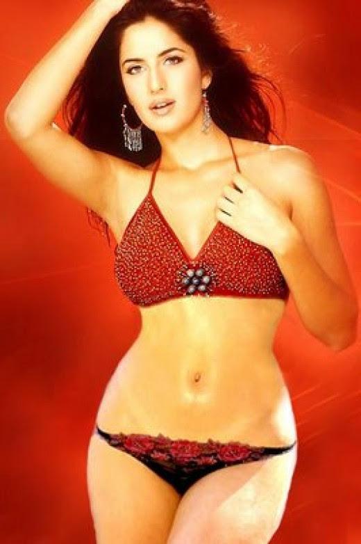 KATRINA IN RED BIKINI!!! REALLY HOT AND STUNNING!!!