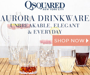 Q Squared | Aurora Crystal Unbreakable Drinkware