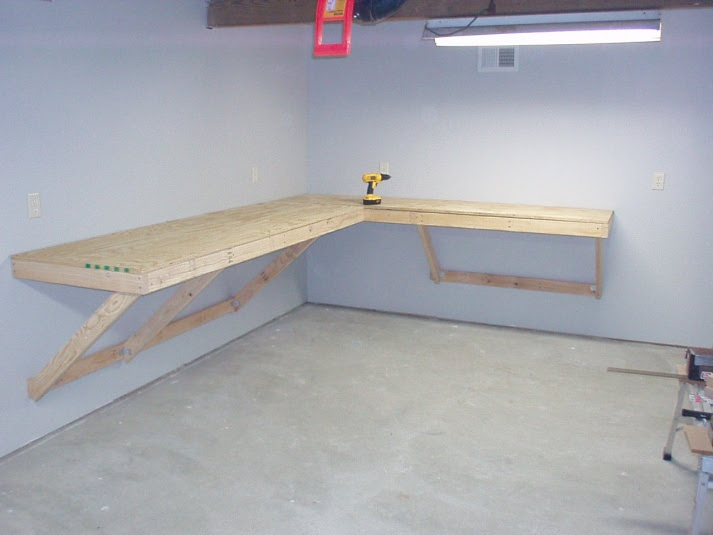 Shed Plans 2017: How To Build A Workbench In A Storage Shed