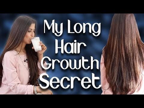 Fast Hair Growth Secret / Drink, Exercise, Diet for Long Hair