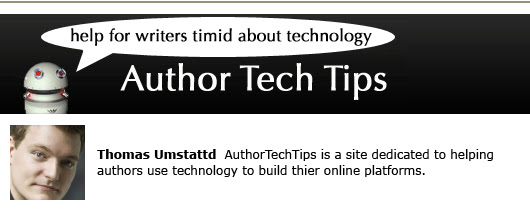 thomas umstattd author tech tips self-publishing