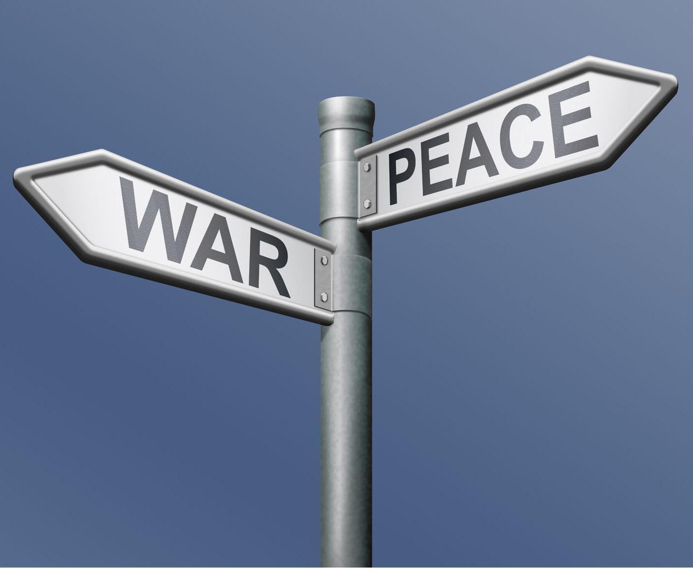 Risultati immagini per peace war
