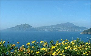 Views of Ischia from Procida - photo by Romina...