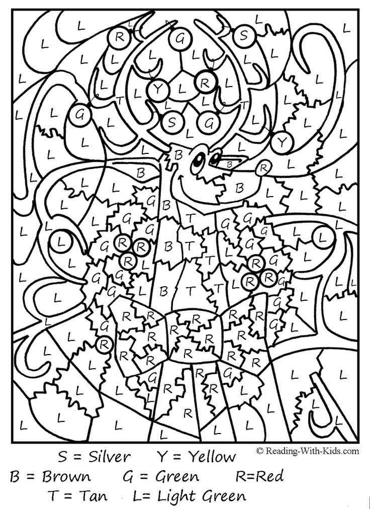 Hard Color By Number Coloring Pages at GetColorings.com ...