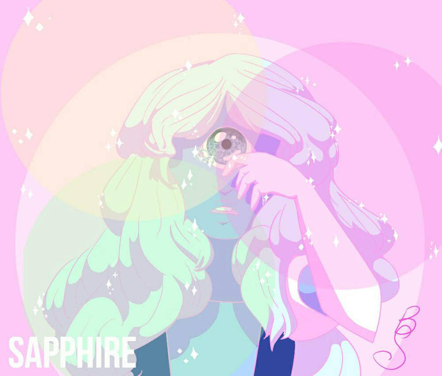 Wow! Here's Sapphire from Steven Universe! I really enjoyed drawing her, this is one of my favorite pieces so far! Enjoy!