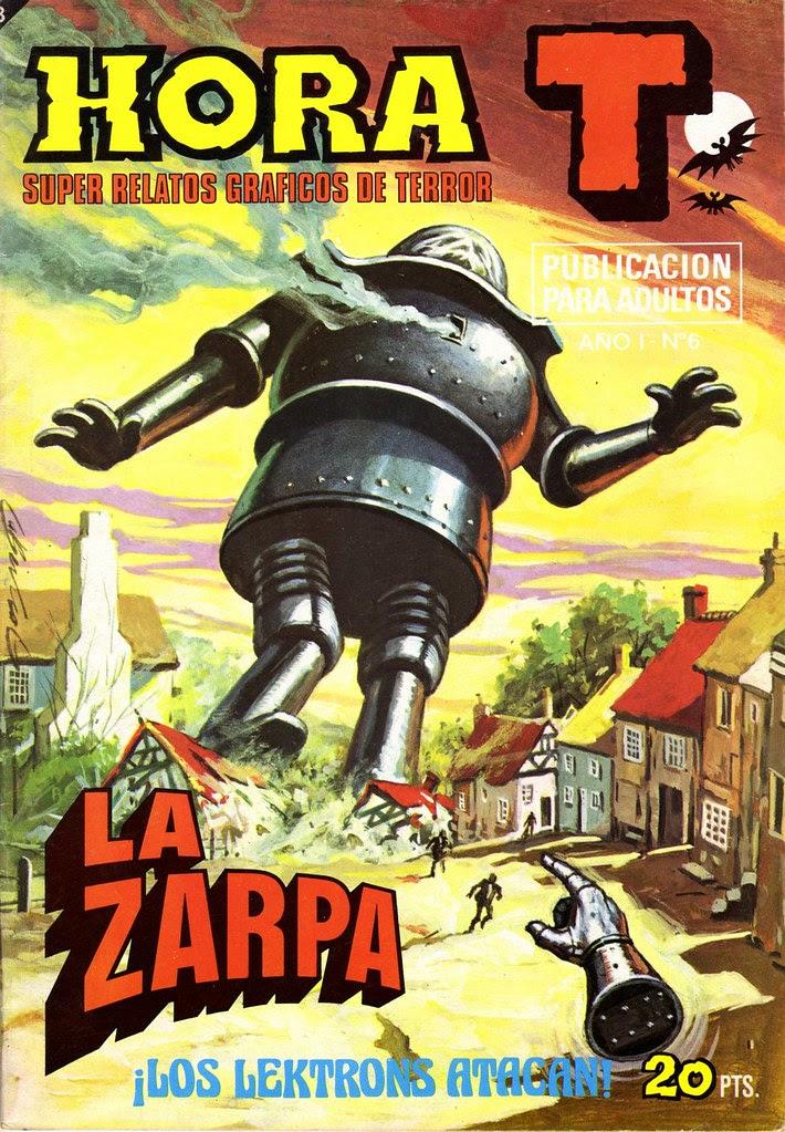 Antonio Bernal - Hora T (issue 6) 1975jpg