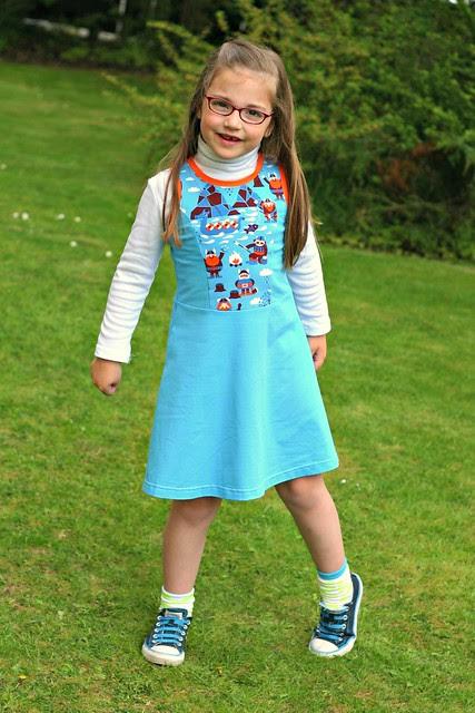Princess seamed skater dress full 2